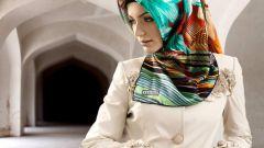 Как завязывать восточный платок