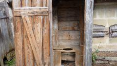 Как сделать деревянный туалет