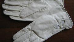 Как почистить белые кожаные перчатки
