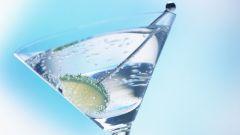 Как смешать мартини