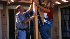 Как построить веранду в доме