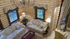 Как построить дом из оцилиндрованного бревна в 2018 году