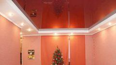 Как смонтировать натяжной потолок
