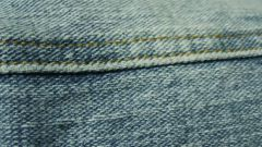 How to embroider jeans