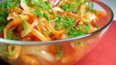 Как приготовить овощной салат
