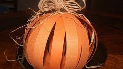 Как сделать шары из картона