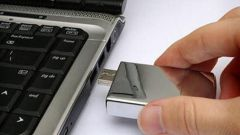 How to open a flash drive from the computer