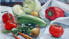 Как нарисовать овощи
