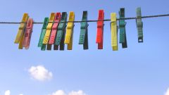 How to tighten a clothesline