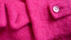 Как покрасить пальто