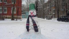 Как делать фигуры из снега