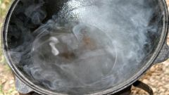 How to prepare the cauldron