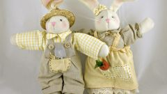 Как сшить игрушку зайца