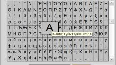 How to translate the letter in figure