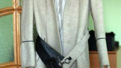 Как постирать белое пальто