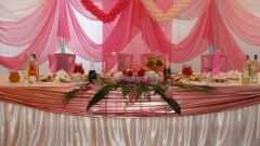 Как оформить свадебный зал
