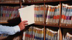 Как оформлять документы в архив