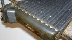 Как промыть радиатор отопителя