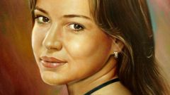 How to draw portrait oil painting