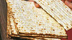 How to cook matzah