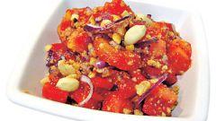 Как готовить салат овощной с арахисом по-египетски