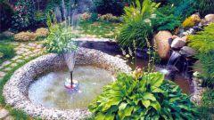 Как сделать декоративный фонтан