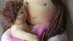 Как смастерить куклу