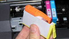 Как поставить картридж в принтер