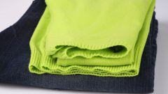 Как убрать лоск с одежды