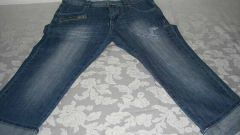 Как подвернуть джинсы