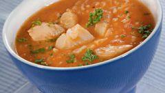 Как готовить рыбный суп по-гански