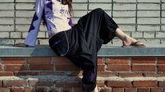Как сшить широкие штаны
