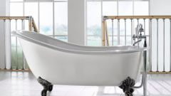 Как можно разбить ванную из чугуна