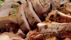 Как приготовить рулеты из куриного филе с зеленым луком