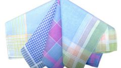 Как подшить платок