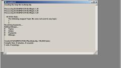 Как скомпилировать файл справки