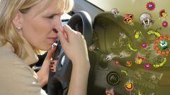 Как вывести запах из машины