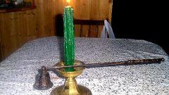 Как гасить свечи