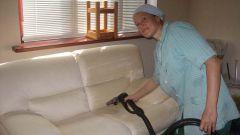Как чистить паром мебель