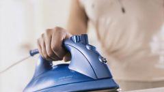 Как убрать накипь в утюге