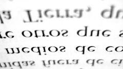 Как написать перевернутый текст