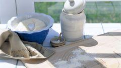 How to fry flour