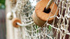 Как вязать рыбацкую сеть