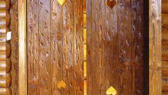 Как состарить двери