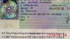 How to read a Schengen visa