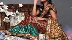 Как носить сари