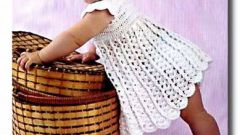 How to crochet child sundress
