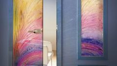 Как сделать цветное стекло