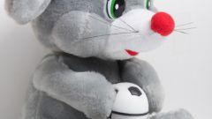 Как сшить мышку