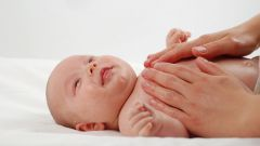 Как делать массаж грудному ребенку